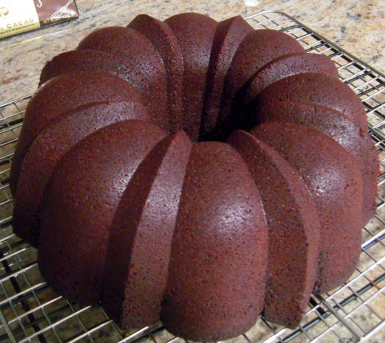 Chocolate Bundt 1