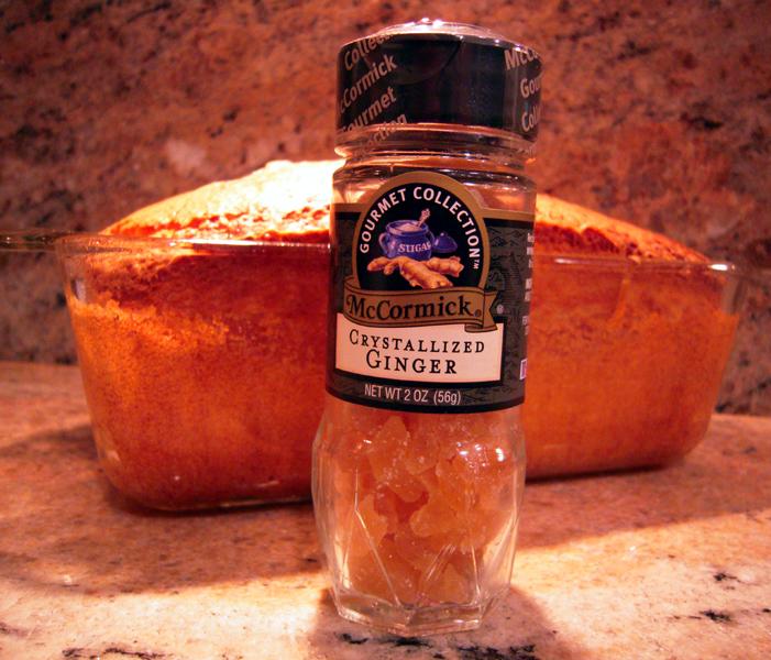 Pound cake ginger