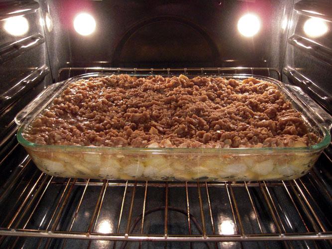 Crisp baking