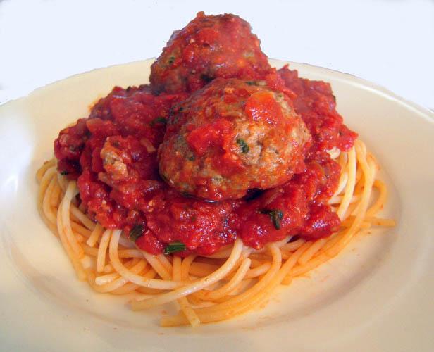 Spaghetti meatball2