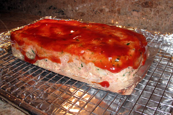 Tueky meatloaf shaped
