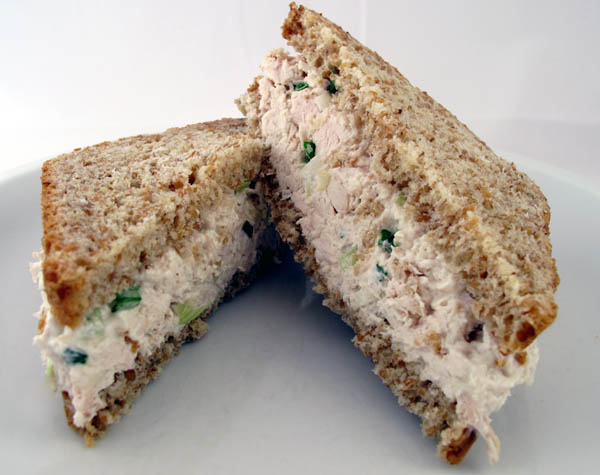 Chicken salad sandwich 3