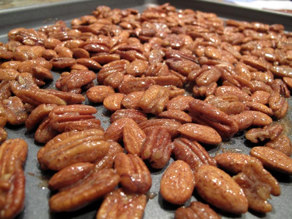 Spiced nuts sheet