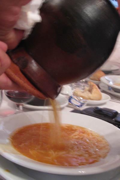 La bola stew pour