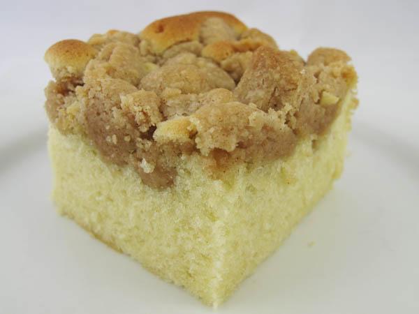 Crumb cake piece
