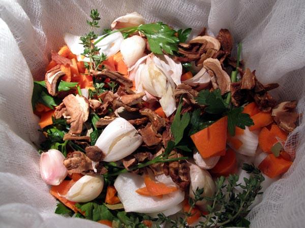 Beef bouquet garni