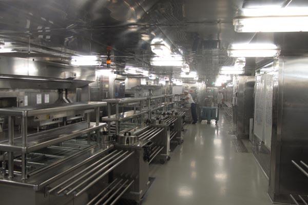 Westerdam kitchen
