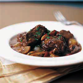 Traditional Boeuf Bourguignon