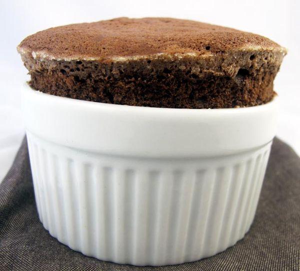 Best Individual Chocolate Souffles with Valrhona Bittersweet Chocolate ...