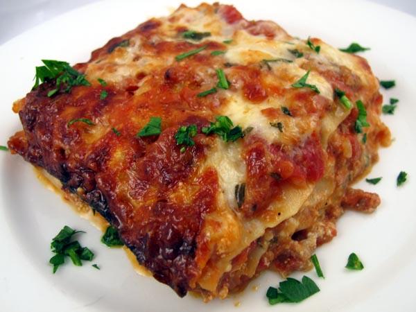 Lasagna piece 3