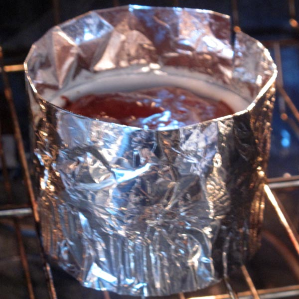 Choco souffle foil wrapped
