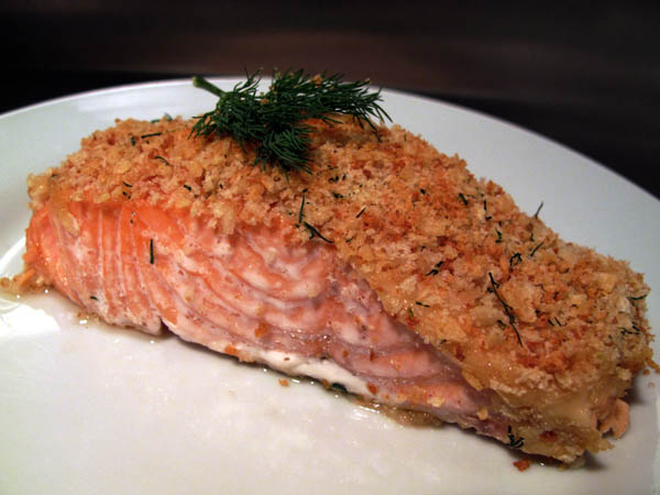 Salmon fillet plate