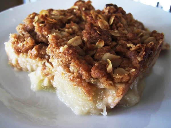 Apple crisp plate 2