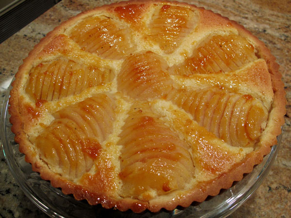 Pear Tart with Almond Frangipane Filling - Cook Like James