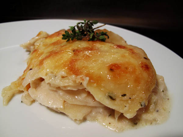 Classic Scalloped Potatoes with Celery Root - Cook Like James