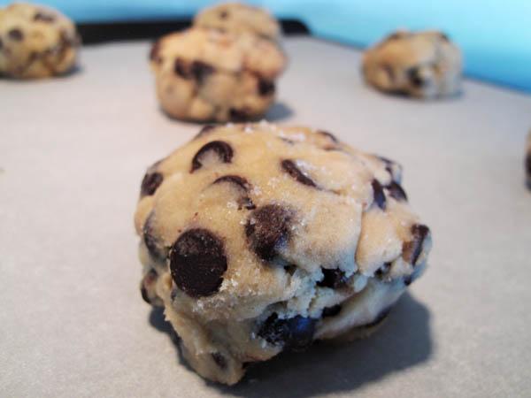 Cookie dough balls