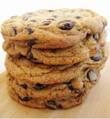 Jacques Torres Chocolate Chip Cookies - Cook Like James