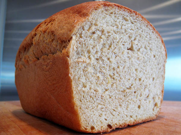 Anadama Bread Cut