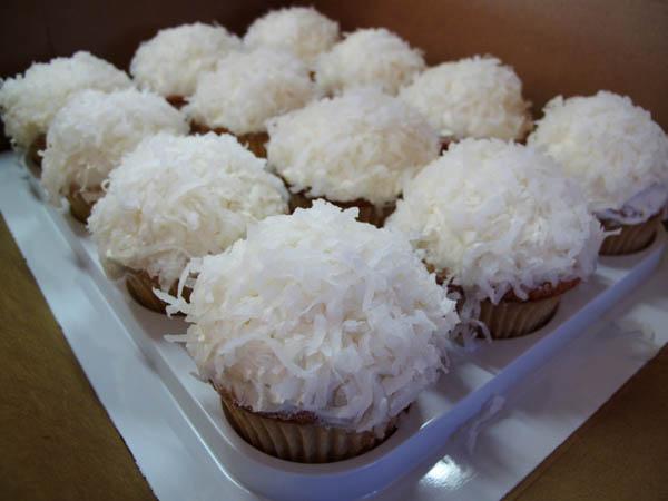 Coconut Cupcakes Dozen 1