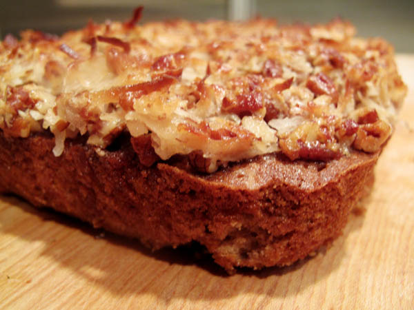Old Fashioned Oatmeal Cake With Broiled Coconut Icing