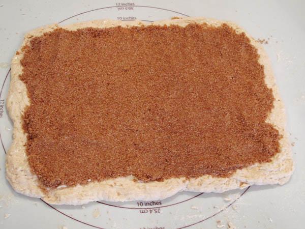 Cinnamon Bun dough filling