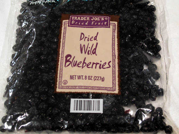 Trader Joes Dried Blueberries