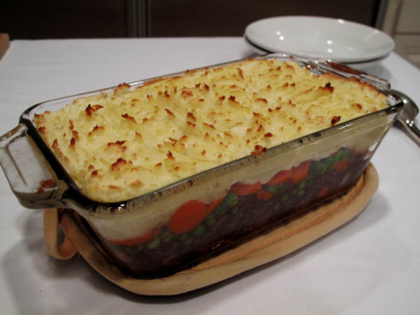 Shepherd pie dish