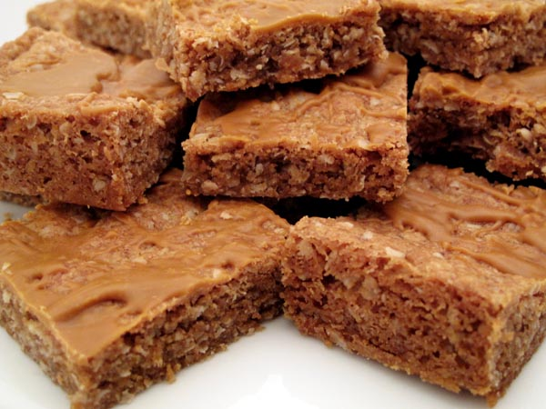Oatmeal Butterscotch Brownies 1