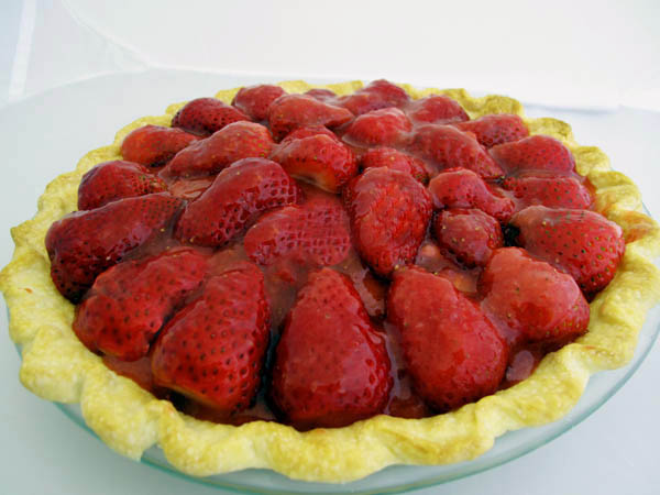 Strawberry pie 1