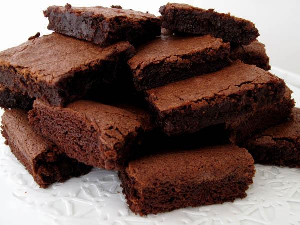Brownies plate
