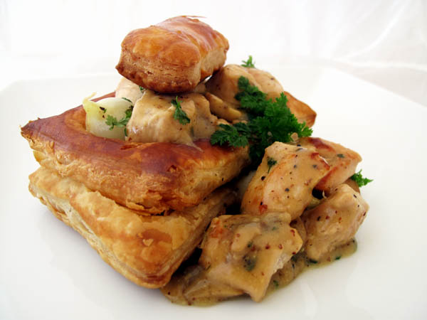 Chicken Vol au Vent