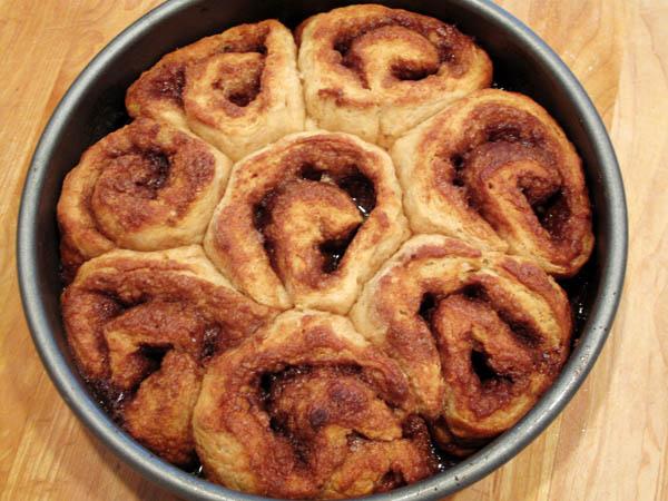 Cinnamon Bun baked