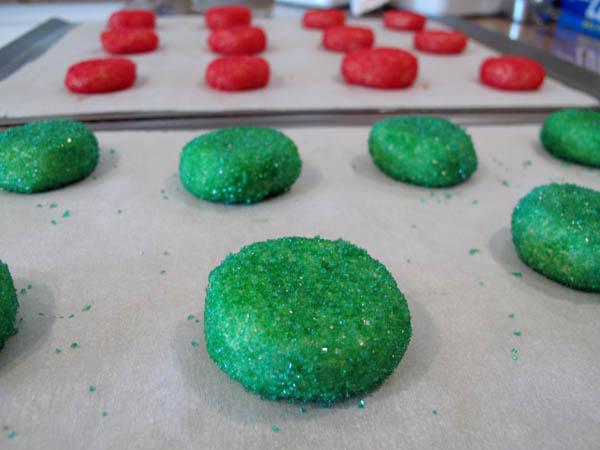 Sugar Cookies pressed