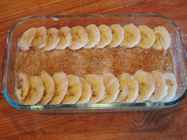 Prize banana bread prebake