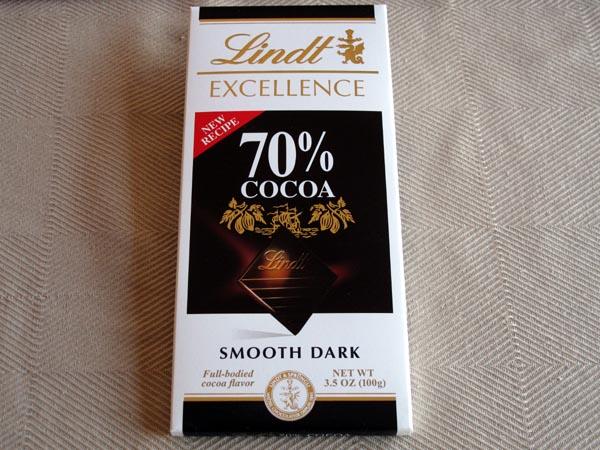 Dark chocolat Lindt