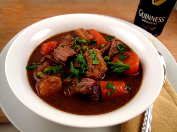Guinness beef stew bowl