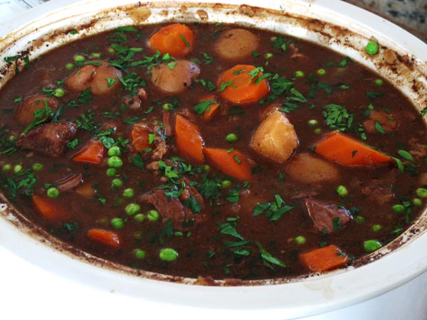 Guinness beef stew crockpot