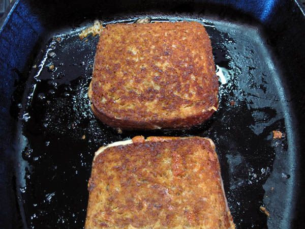 Grilled Cheese cast iron