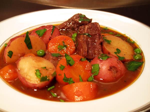 Beef stew bowl