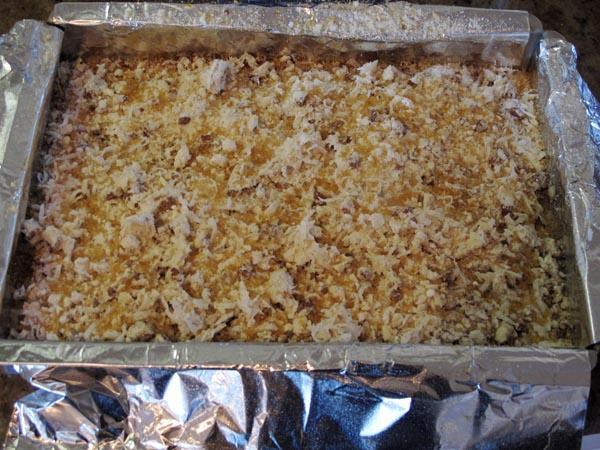 Apricot squares pan