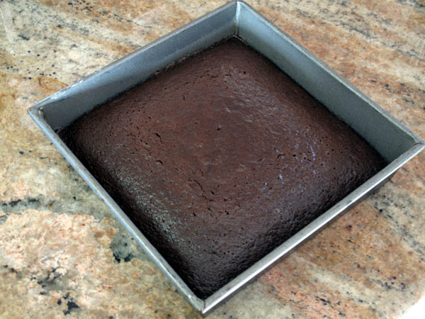 Chocolate Mayonnaise Cake baked