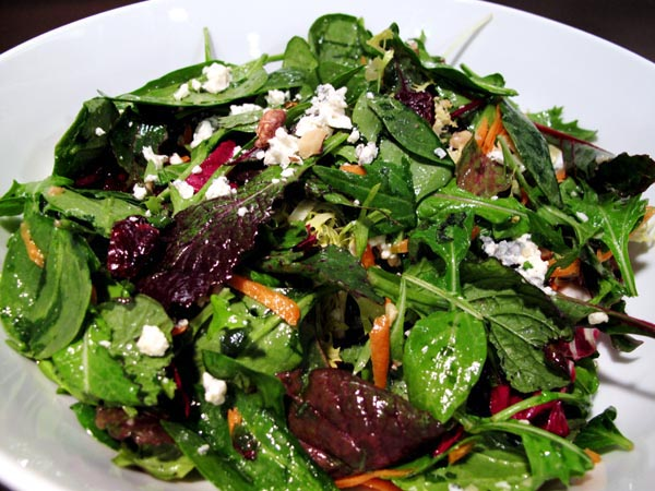 Mixed Field Greens Vinaigrette