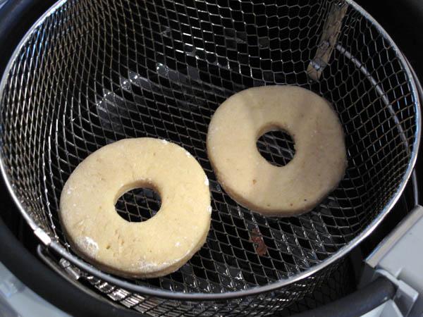 Buttermilk doughnuts precook