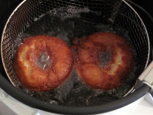Buttermilk doughnut  side 2 cook