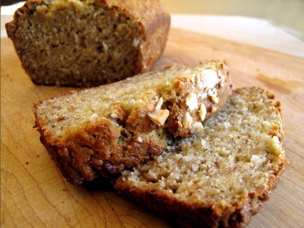 Big Island Banana Macadamia Nut Bread - Cook Like James