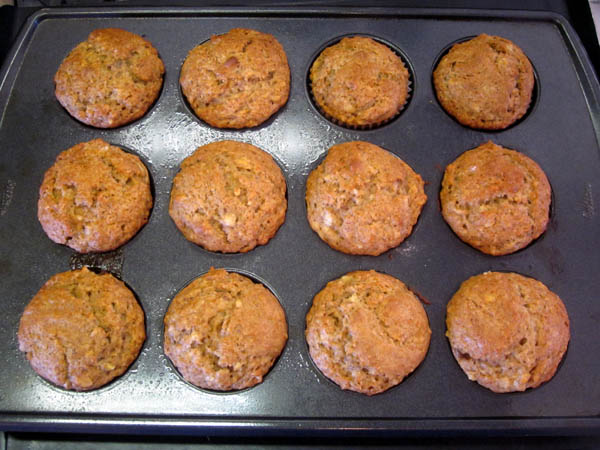 Banana Nut Muffin Baked