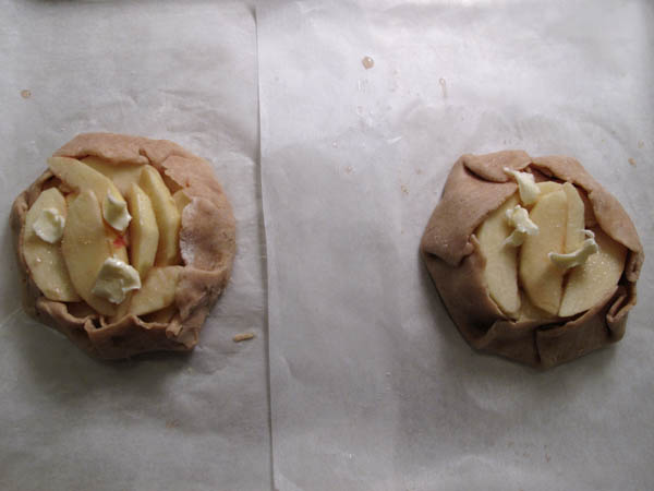Rustic Free Form Apple Tartlet prebake 2