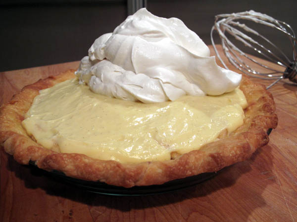Banana Cream Pie whipped cream