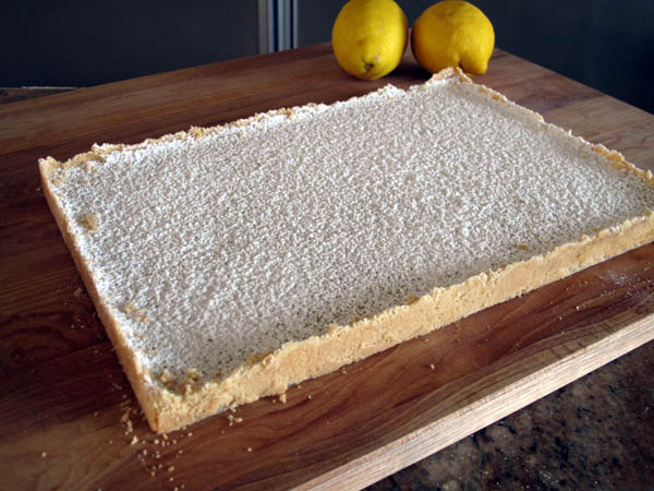 Lemon Bars Sheet