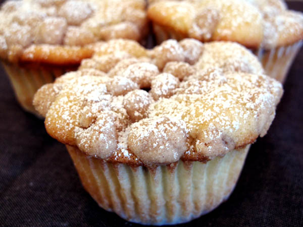 Drake's Thick Crumb Coffee Cake Muffins - Cook Like James